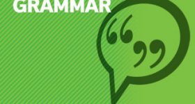 Grammar – see